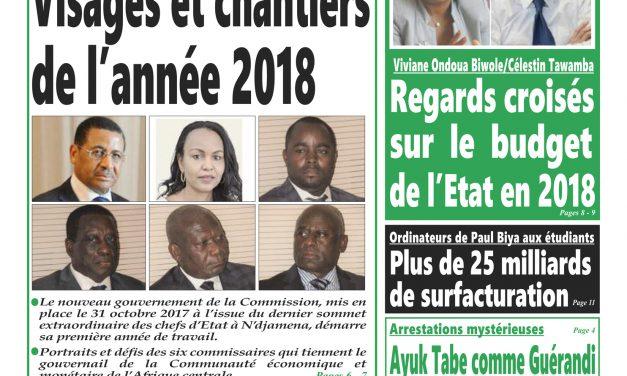 Journal Intégration: parution n°307 du Lundi 15 Janvier 2018