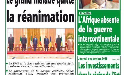 Journal Intégration: parution n°306 du Lundi 8 Janvier 2018