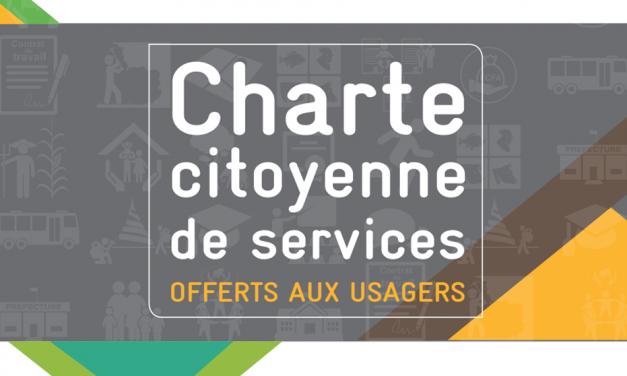 GIZ: charte citoyenne de services offerte aux usagers