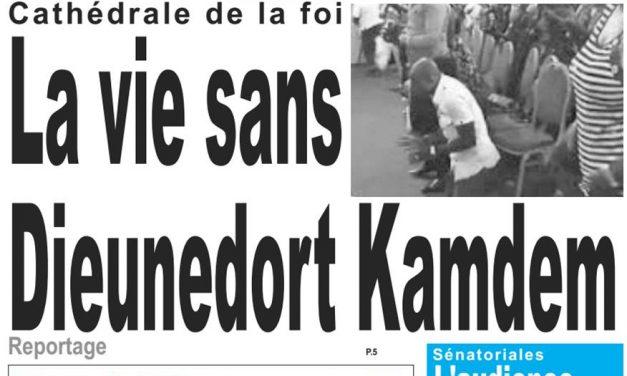 Cameroun: journal Lejour parutrion du 15 mars 2018
