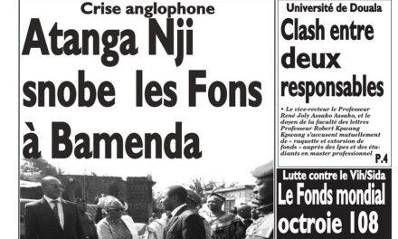 Cameroun: Journal Le Messager parution du 19 Mars 2018