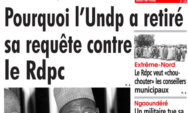 Cameroun: journal le Sahel parution du 16 mars 2018