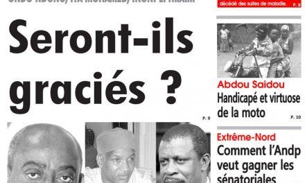 Cameroun: Journal L'oeil du Sahel parution du 19 Mars 2018