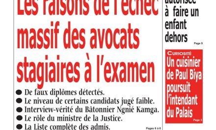 Cameroun : journal Kalara, parution du 09 Mai 2018