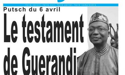 Cameroun : journal LeJour, parution du 03 Avril 2018