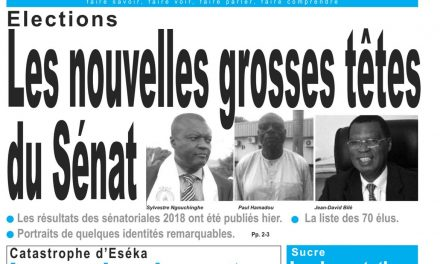 Cameroun : journal LeJour, parution du 06 Avril 2018