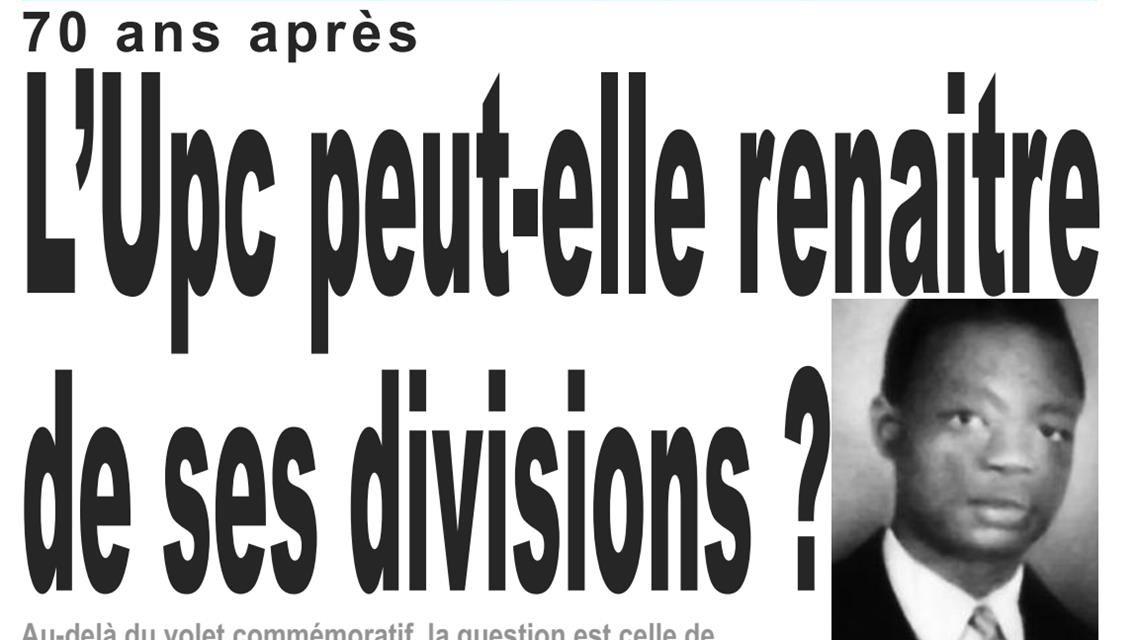 Cameroun : journal LeJour, parution du 10 Avril 2018