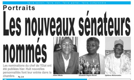 Cameroun : journal LeJour, parution du 13 Avril 2018
