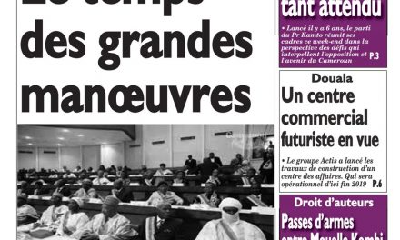 Cameroun : journal Le Messager, parution du 12 Avril 2018