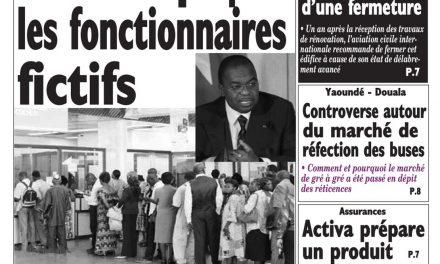 Cameroun : journal Le Messager, parution du 17 Avril 2018