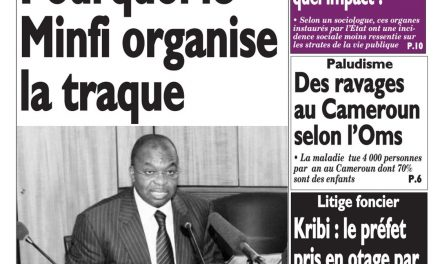 Cameroun : journal Le Messager, parution du 18 Avril 2018