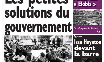 Cameroun : journal Le Messager, parution du 19 Avril 2018