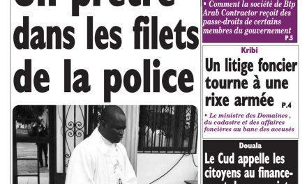 Cameroun : journal Le Messager, parution du 28 Mars 2018