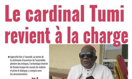 Cameroun : journal Mutations, parution du 12 Avril 2018