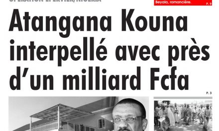Cameroun : journal L'œil du Sahel, parution du 02 Avril 2018