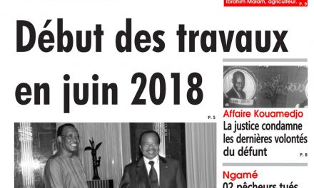 Cameroun : journal L'œil du Sahel, parution du 18 Avril 2018