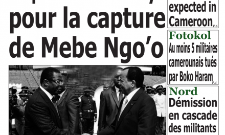 Cameroun : journal Emergence, parution du 04 Avril 2018