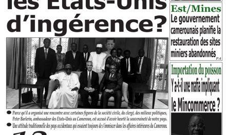 Cameroun : journal Emergence, parution du 13 Avril 2018
