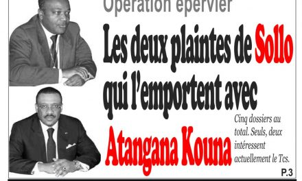 Cameroun : journal InfoMatin, parution du 02 Avril 2018
