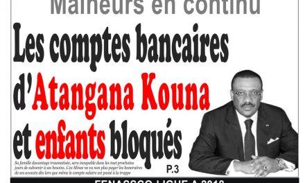 Cameroun : journal InfoMatin, parution du 04 Avril 2018
