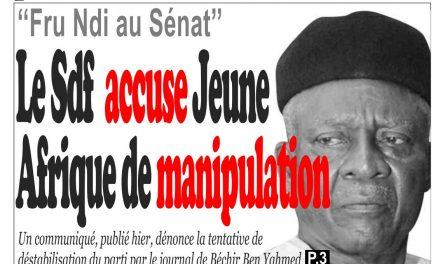 Cameroun : journal InfoMatin, parution du 11 Avril 2018