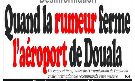 Cameroun : journal InfoMatin, parution du 18 Avril 2018