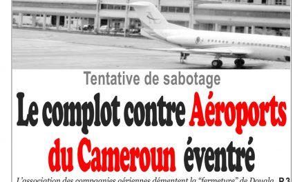 Cameroun : journal InfoMatin, parution du 19 Avril 2018