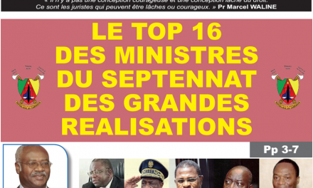 CAMEROUN: JOURNAL CAMERLEX PARUTION N° 003 DU LUNDI 03 SEPTEMBRE 2018