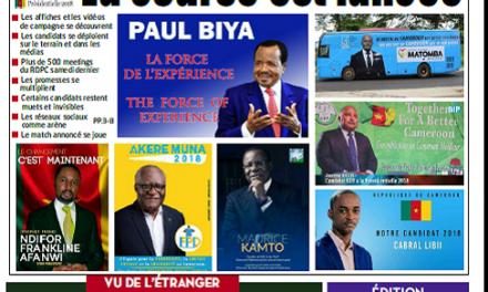Cameroun : Journal l'Essentiel parution 21 septembre 2018