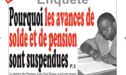 Cameroun : Journal Infomatin quotidien parution 05 septembre 2018