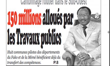 Cameroun : Journal Infomatin quotidien parution 18 septembre 2018