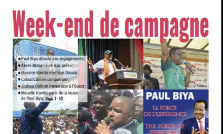 Cameroun : Journal Mutations quotidien parution 24 septembre 2018