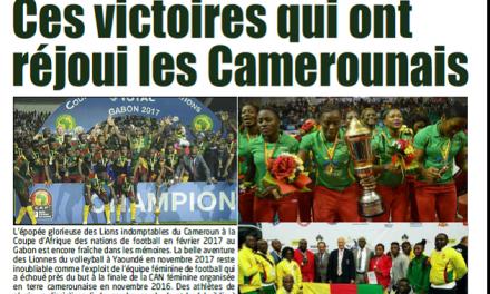 Cameroun : Journal L'essentiel parution 12 septembre 2018