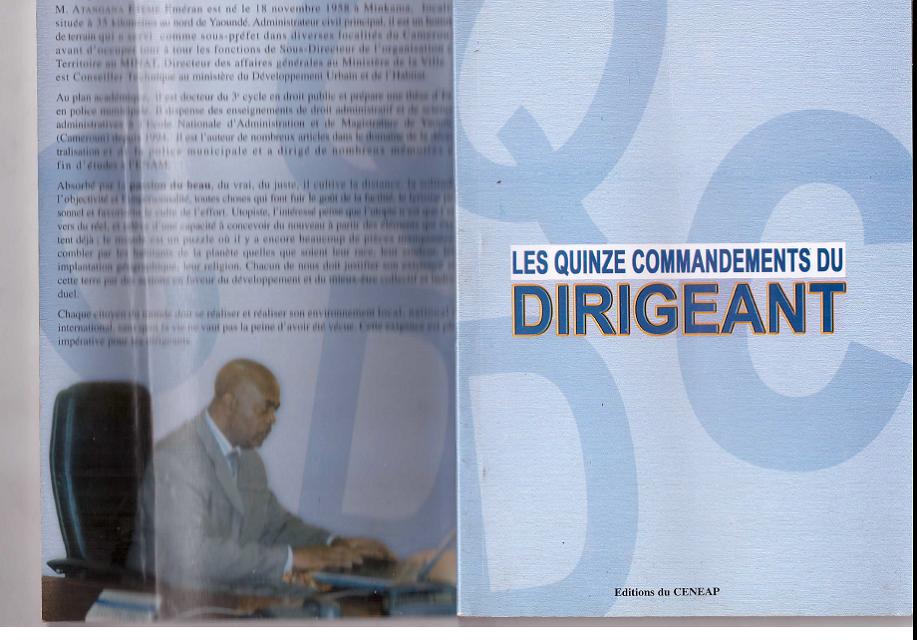 Cameroun : Hommes politiques, managers-hommes de médias et stratèges militaires patrons de police,agents de renseignements  . professeurs de facultés,