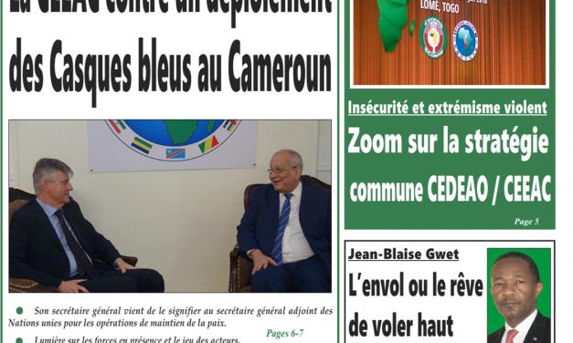 cameroun : journal intégration parution du 6 août 2018