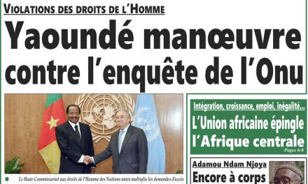 Cameroun: journal intégration parution du 13 août 2018