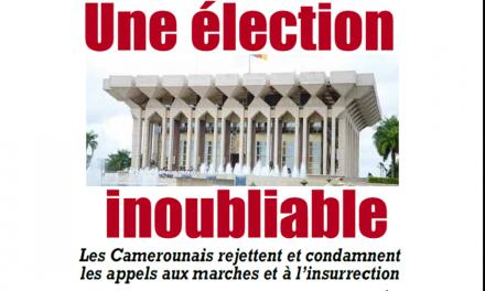 Cameroun : Journal l'Essentiel parution 22 octobre 2018