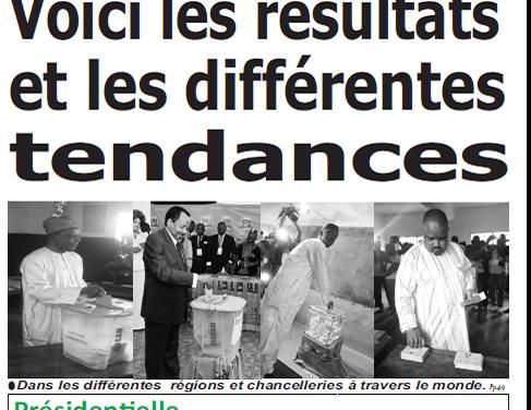 Cameroun : Journal Quotidien émergence parution 08 septembre 2018