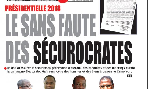 Cameroun : Journal Essingan parution 15 octobre 2018