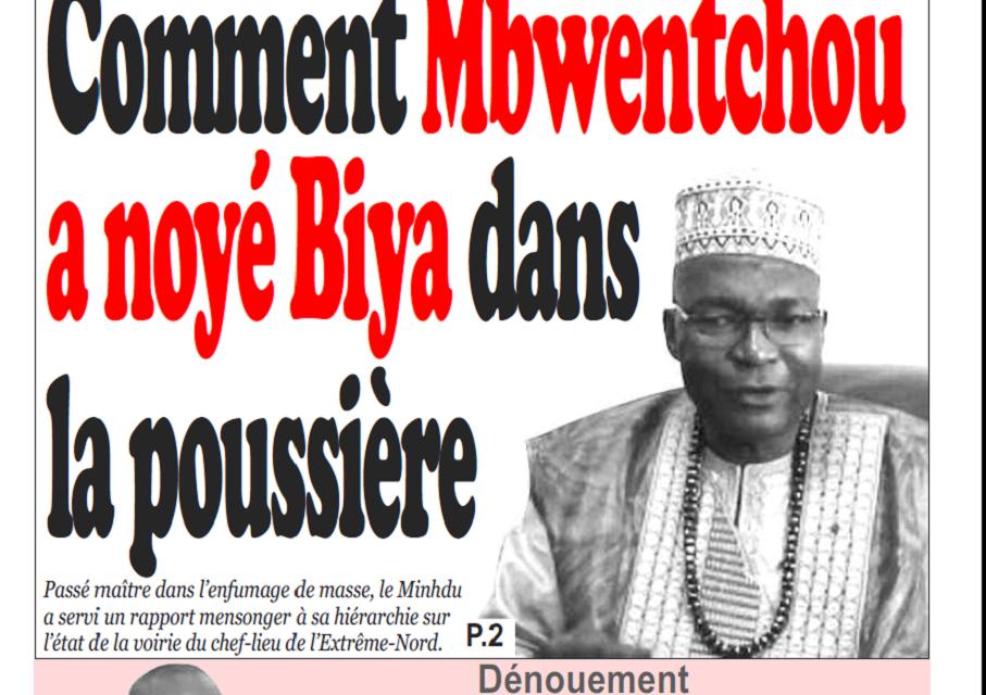 Cameroun : Journal Infomatin parution 30 octobre 2018
