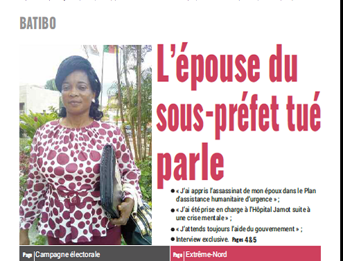 Cameroun : Journal mutations quotidien parution 28 septembre 2018