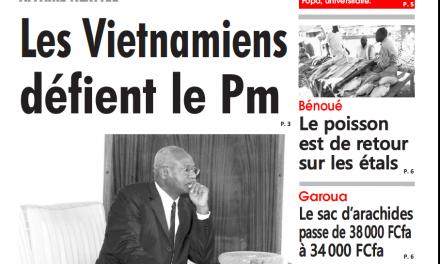 Cameroun : L'œil du sahel parution 17 octobre 2018