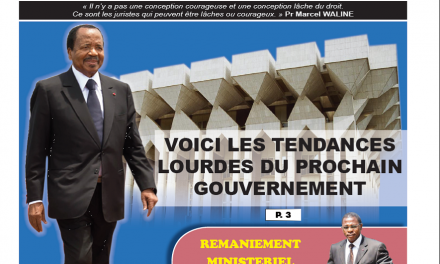 Cameroun : Journal CAMERLEX parution du mercredi 07 novembre 2018