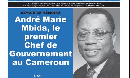 Cameroun : Journal CAMERLEX parution du jeudi 22 novembre 2018
