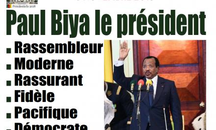 Cameroun : Journal l'Essentiel parution 07 novembre 2018