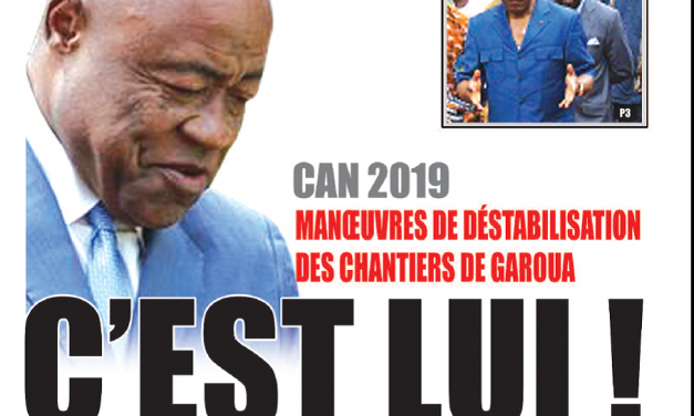 Cameroun : Journal Essingan parution 12 novembre 2018