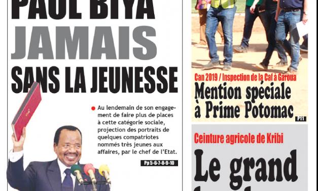 Cameroun : Journal Essingan parution 15 novembre 2018