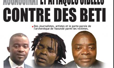Cameroun : Journal Essingan parution 19 novembre 2018