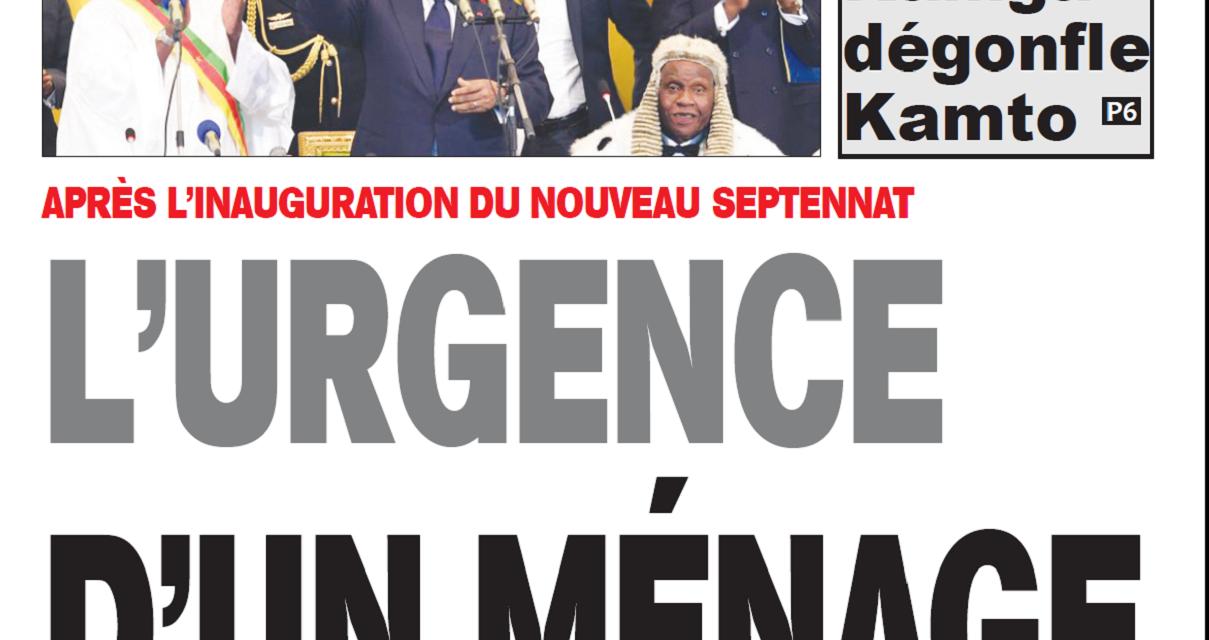 Cameroun  : Journal Essingan parution 08 novembre 2018