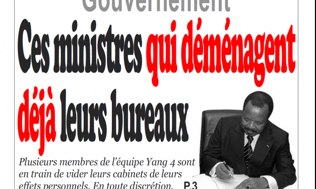 Cameroun : Journal Infomation parution 12 novembre 2018